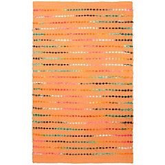 Alfombra Rainbow 60x90 cm naranjo