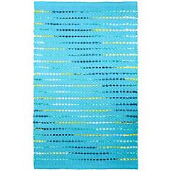 Alfombra Rainbow 60x90 cm azul