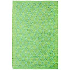 Alfombra Summer 60x90 cm verde