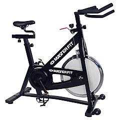 Bicicleta spinning gris
