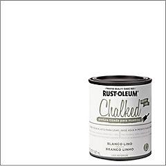 Pintura tizada para muebles 1/4 gl Blanco lino