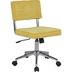 silla PC Jesu 48x55,5x83/91 cm mostaza