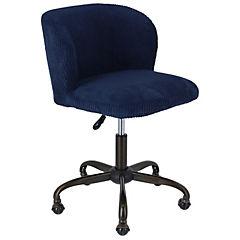 silla PC Dante 55x57x79/91 cm azul