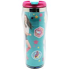 Vaso térmico infantil 400 ml plástico