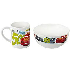 Juego de bowl + taza cerámica