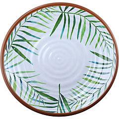Plato Hojas Tropicales 27 cm