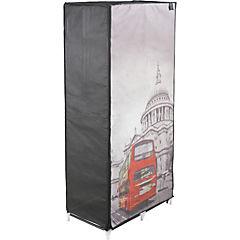 Closet portable 75x45x160 cm bus Londres