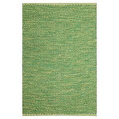 Alfombra Solid 60x90 cm verde