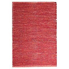 Alfombra Solid 60x90 cm rojo