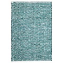 Alfombra Solid 60x90 cm azul
