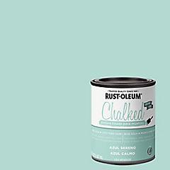 Pintura tizada para muebles 1/4 gl Azul sereno