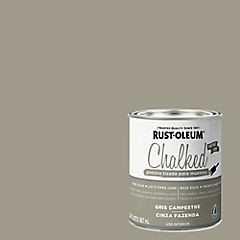 Pintura tizada para muebles 1/4 gl Gris campestre
