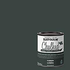 Pintura tizada para muebles 1/4 gl Carbón