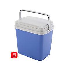 Nevera rígida con asa 35 litros azul