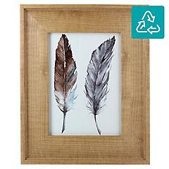Marco de foto Wood gold 13x18 cm