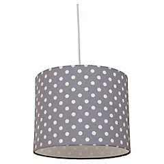 Lámpara colgante gris PuntosE27
