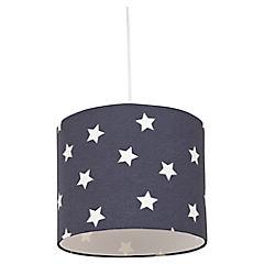 Lámpara colgante gris Estrellas E27