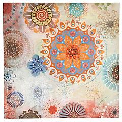 Canvas con aplicaciones de Gel Vintage 2 80x80 cm
