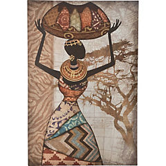 Canvas Mujer Africana 02 60x90 cm