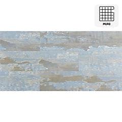 Revestimiento vinílico muro azul 1,66