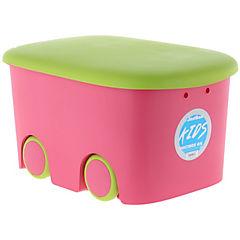 Caja infantil 45 litros con ruedas