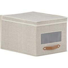 Caja organizadora tela 30x40x25 cm