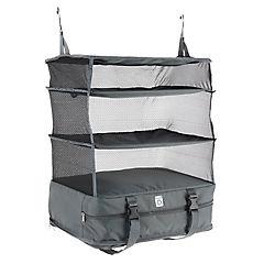 Organizadora maleta clóset portatil 45x30x64 cm