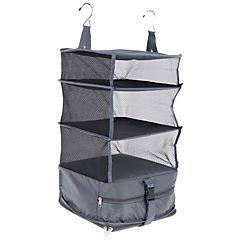 Organizadora maleta clóset portatil 30x30x64 cm