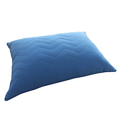 Almohada 50x70 azul dark tela 230 hilos relleno 950 gramos
