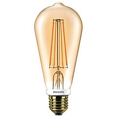 Ampolleta LED Filament GOLD 5.5W-50W Pera E27
