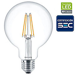 Ampolleta LED Filament 6W-60W mini Globo E27