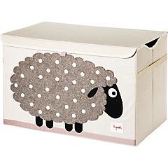 Baúl para juguetes oveja 61x36x38 cm
