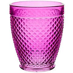Vaso vidrio 450 ml Morado