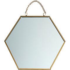 Espejo Panal 20x20 cm con cadena
