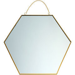 Espejo Panal 30x30 cm con cadena