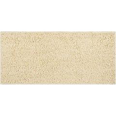Bajada de cama shaggy Conrad beige 50x110 cm