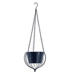 Macetero colgante de metal 70x22x22 cm