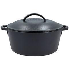 Olla hierro fundido 26,52 cm 4,73 litros negro