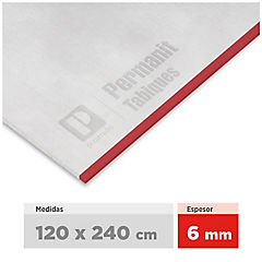 6 mm 120 x240 cm Planchas permanit superboard