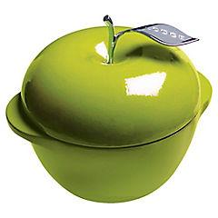 Olla manzana verde 2,6 l hierro fundido