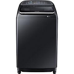Lavadora superior 18 kg negro