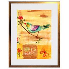 Cuadro Vintage Bird 50x35 cm