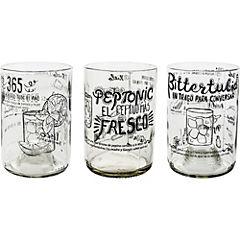 Pack de 4 vasos Cocktail
