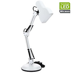 Lámpara escritorio led OX 5 W blanco