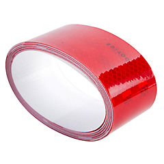 Cinta reflectante 4,6 m rojo