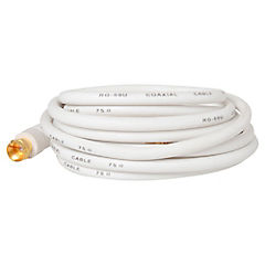 Cable coaxial RG-59 blanco 3mts.