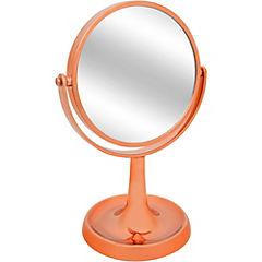 Espejo de pedestal para baño cobre