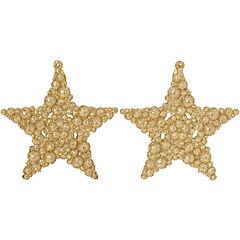 Set 2  estrellas colgantes