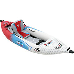 Bote kayak plástico blanco 1 persona