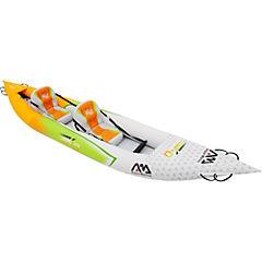 Bote kayak plástico blanco 2 personas